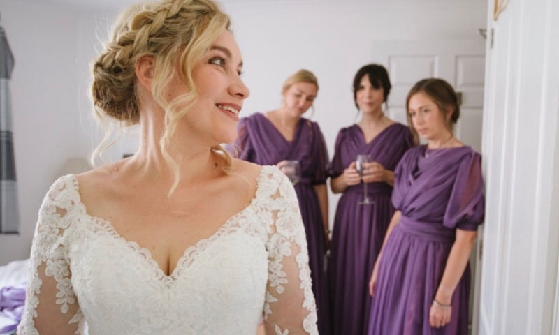 wedding hair plymouth wembury