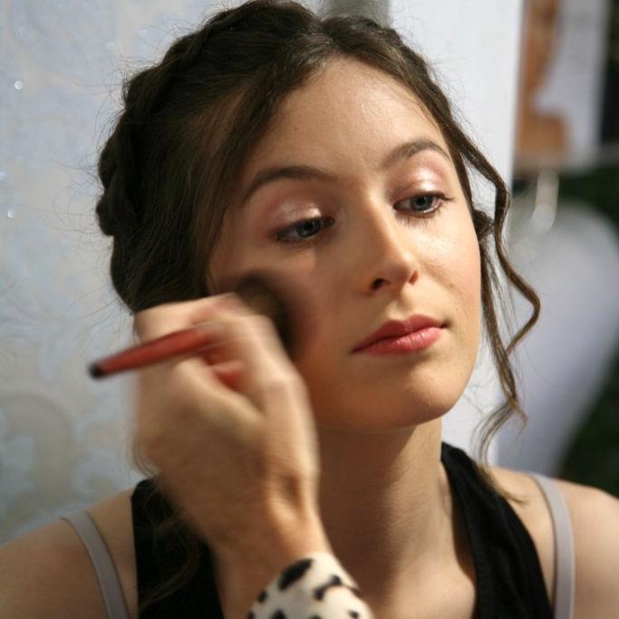 wedding makeup Wembury